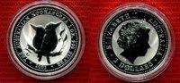 2 Dollar 2 oz Silber 2001 Australien Austr...