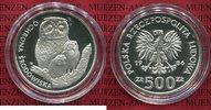 500 Zloty Silbermünze Silver 1986 Polen, P...