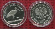 100 Zloty Silbermünze 1982 Polen, Poland Bedrohte Tierwelt, Storch sehr... 75,00 EUR  +  8,50 EUR shipping