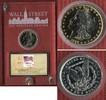 1 Dollar 1889 USA 1 Dollar Morgan Typ Silber aus der Wall Street Collec... 99,00 EUR  +  8,50 EUR shipping