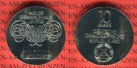 10 Mark 1982 DDR Gedenkmünze Eröffnung des...