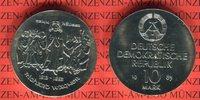 10 Mark 1983 DDR Gedenkmünze 100. Todestag...