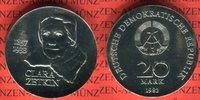 20 Mark 1982 DDR Gedenkmünze 125. Geburtst...