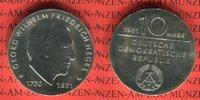 10 Mark 1981 DDR Gedenkmünze 150. Todestag...