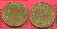 8 Escudos Gold 1820 Columbia Kolumbien Gol...