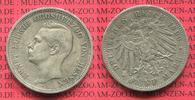 5 Mark  Kaiserreich Silber Kursmünze 1899 ...