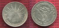 Mexiko 1 Peso Silbermünze Peso Culiacan