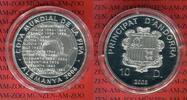 10 Diner Silbermünze 2003 Andorra Andorra ...