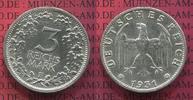3 Mark Kursmünze Silber 1931 F Weimarer Republik Deutsches Reich Kursmü... 325,00 EUR  +  8,50 EUR shipping