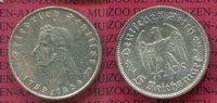 5 Reichsmark III. Reich Silbermünze 1934 F...