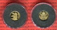 25 Dollars Minigoldmünze 1996 Niue Island ...