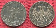 Doppelgulden 2  Gulden 1848 Frankfurt Erzh...