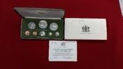 KMS 1 Cent - 10 Dollar 1975 Trinidad und T...