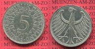 5 DM Silberadler 1958 J Bundesrepublik Deu...