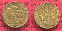10 Mark Goldmünze 1880 A Preußen, Prussia ...