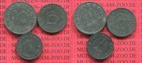 1,5 und 10 Pfennig 1945 und 19 Deutschland...