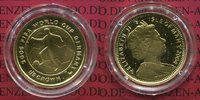 1/5 Crown Gold 2004 Isle of Man Fußball WM...
