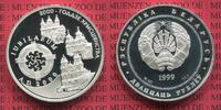 20 Rubel Silber 2003 Weissrussland Belarus...