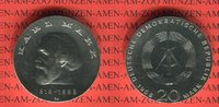 20 Mark Silbergedenkmünze 1968 DDR Gedenkm...
