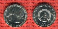 20 Mark Silbergedenkmünze 1971 DDR Gedenkm...