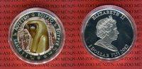 1 Dollar Farbmünze 2012 Fiji Horus Ägyptis...