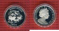 1 Crown Silbermünze 2001 Isle of Man Harry...