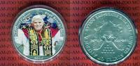 1 Dollar Farbmünze 2006 USA Papst Benedikt...