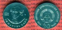 20 Mark Silbergedenkmünze 1974 DDR Gedenkm...