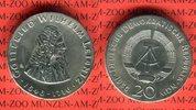 20 Mark Silbergedenkmünze 1966 DDR Gedenkmünze 250.Todestag Gottfried W... 89,00 EUR  +  8,50 EUR shipping