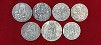 Silbermedaillen Lot von 7 Stück 1994 - 200...