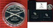 1 Dollar Silbermünze 2012 USA United State...