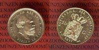 Niederlande Holland 10 Gulden Goldmünze Kursmünze Wilhelm III.