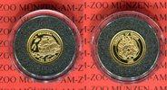 10 Pa anga 1998 Tonga Die kleinsten Goldmü...