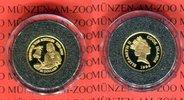 20 Dollar Minigoldmünze 1996 Cook-Inseln D...