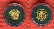 Asarfi Minigoldmünze 1995 Nepal Buddha PP ...