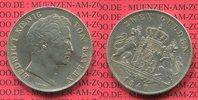 2 Gulden 1847 Bayern, Bavaria Ludwig I. ss...