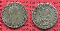 2 Reales 1823 Mexico Mexico City ss