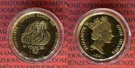 250 Dollars Goldmünze ca. 1/4 Unze 1991 Co...