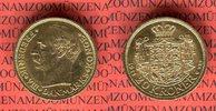 20 Kronen Kroner Goldmünze 1911 Dänemark F...