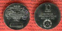 10 Mark DDR Silber Gedenkmünze 1982 DDR, G...