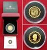 150 Dollars Goldmünze mit 12 Ecken bzw. We...