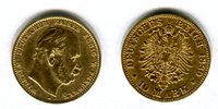 10 Mark Goldmünze 1880A Preussen Wilhelm I Preussen f-ss  175,00 EUR  +  8,50 EUR shipping