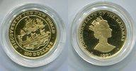 100 Dollars Goldmünze 1991 Bahamas Neue We...