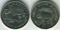 Halber Dollar 1991 USA Jahrestag des nationalen Denkmals Stempelglanz  8,00 EUR  +  8,50 EUR shipping