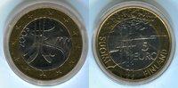 5 Euro 2003 Finnland Eishockey-WM 2003 Stempelglanz minimal beschlagen  9,00 EUR  +  8,50 EUR shipping