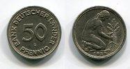 50 Pfennig 1950 G Bundesrepublik Deutschla...