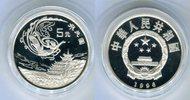 5 Yuan Silbermünze 1996 China Kunstschatz ...