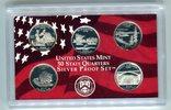 Set 1,25 Dollar (5x0,25 Dollar) 2005 USA 50 State Quaters Set 2005 PP i... 19,00 EUR  +  8,50 EUR shipping