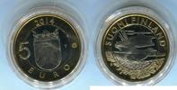 5 Euro 2014 Finnland Kuckuck Finnland PP in Kapsel  644 руб 9,00 EUR  +  608 руб shipping