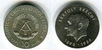 10 mark,silber Gedenkmünze 1973 DDR 75. Geburtstag von Bertolt Brecht v... 1646 руб 23,00 EUR  +  608 руб shipping